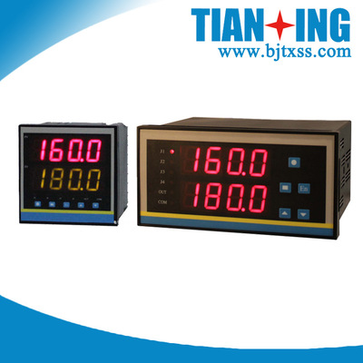 智能双通道温度控制仪表 压力液位流量控制仪表