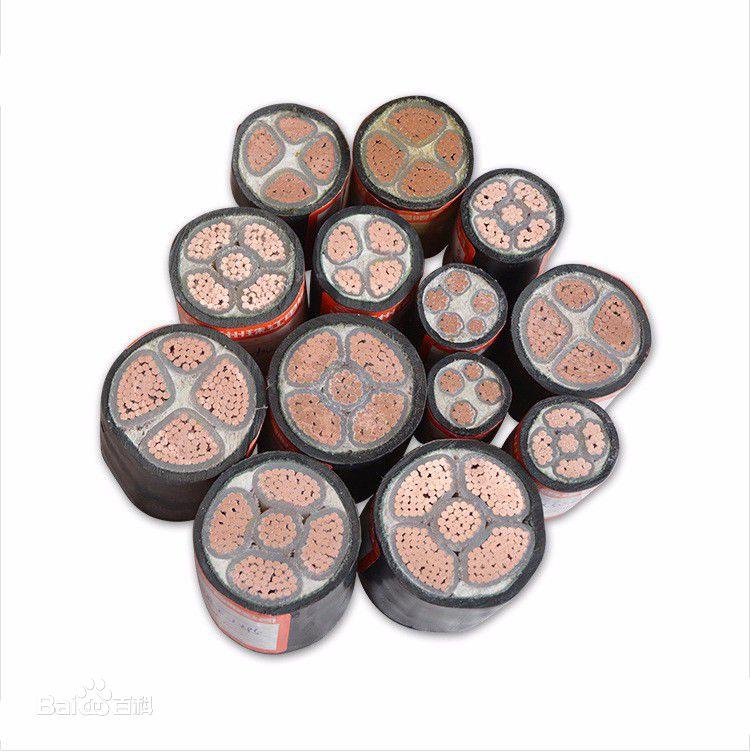 Pvc柔性电绝缘铜芯电力电缆