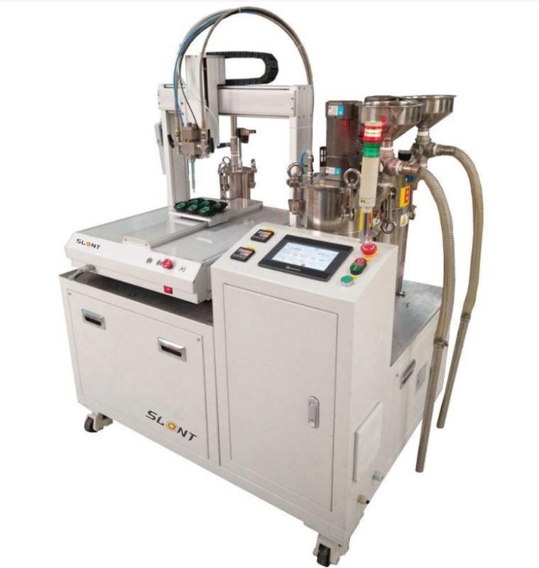 全自动灌胶机厂家销售 北京深隆双组份灌胶机 ST-GJ700 精准配比灌胶机