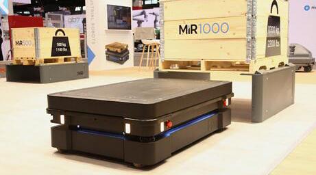 MiR自主移动机器人推出可最高负载1吨的全新产品MiR1000——配置业界首款基于人工智能的导航技术