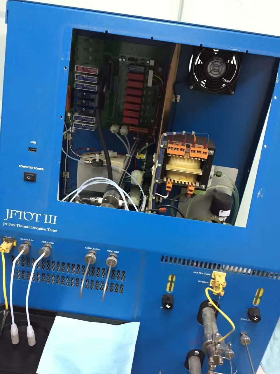 ALCOR jftot 喷气燃料热氧化仪免费检测珠三角两小时上门维修