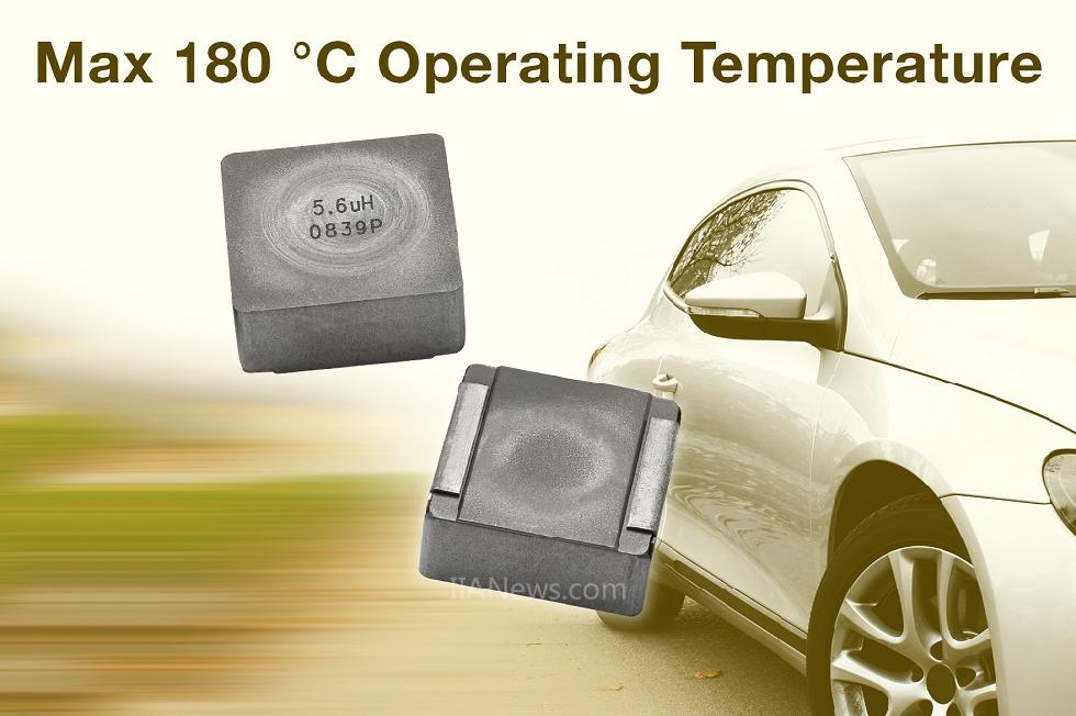 Vishay推出可在汽车发动机舱+180℃高温条件下连续工作的汽车级IHLP?电感器