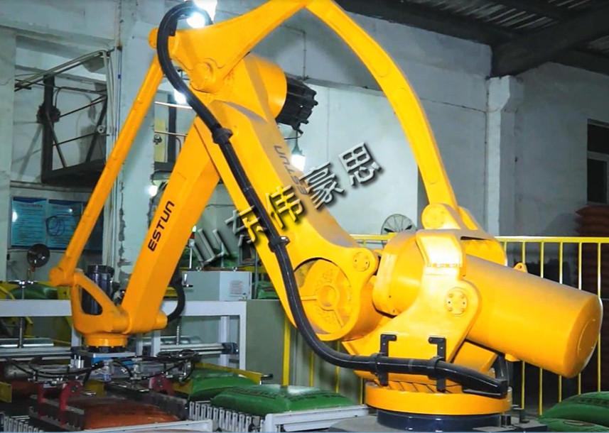 干粉砂浆包装机器人码垛机  自动龙门式码垛机厂家