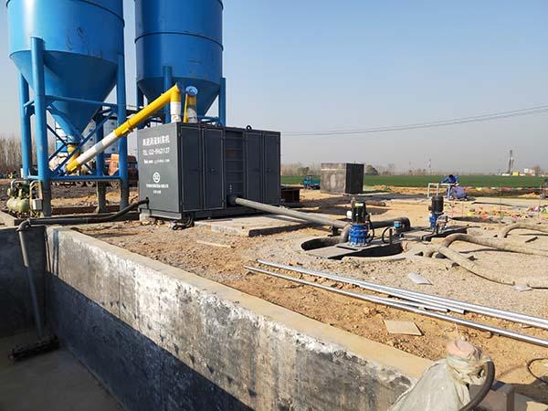 煤矿地面注浆站施工计划水泥粉煤灰注浆加固 天津赛智