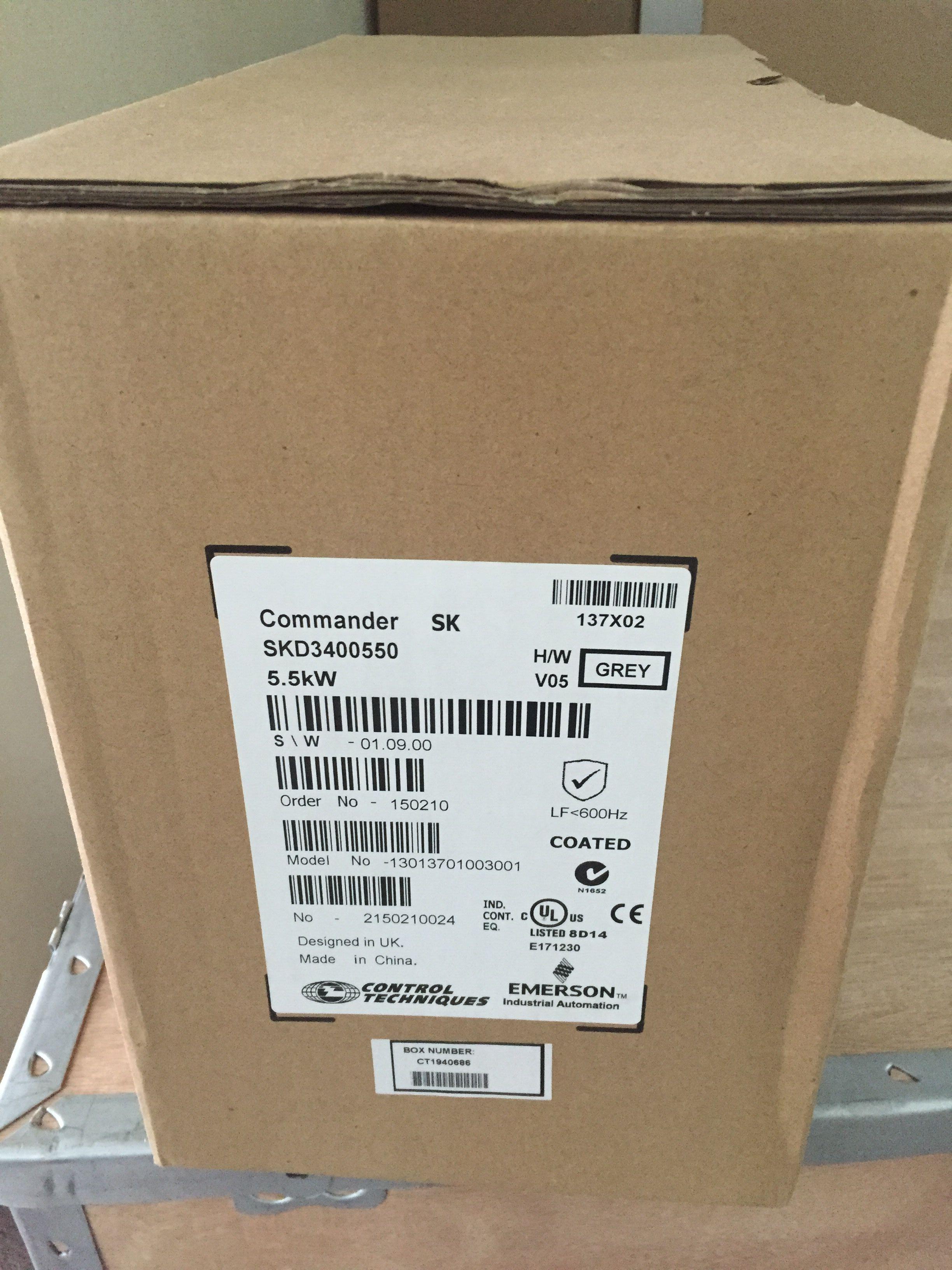 尼得科CT交流变频器停产机SKD3400550