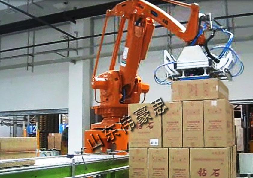 纸箱全自动拆垛机器人 全自动拆垛机加工厂家