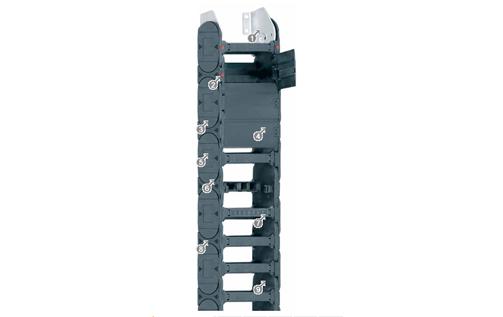 易格斯E4.112系列 - 拖链,可从两侧快速打开
