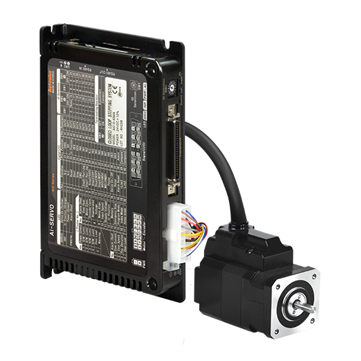 AiC 系列 带集成控制器的2相闭环步进电机系统