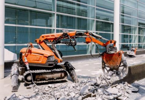 建材机械|8款建筑机器人已进入工地测试