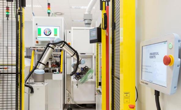 优傲板滞人帮力西班牙汽车工场迈向工业4.0