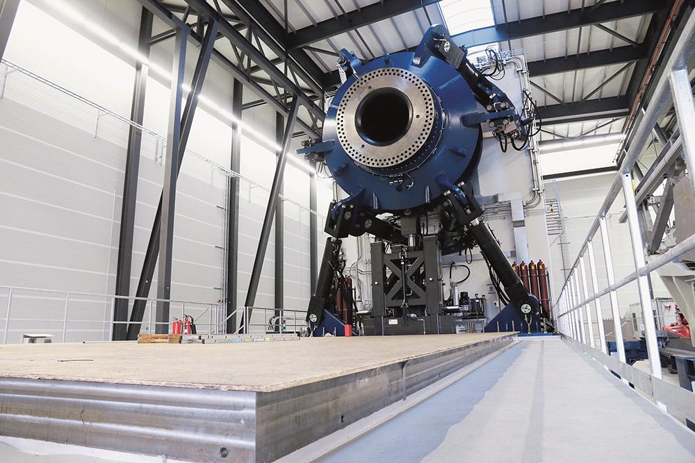 倍福TwinCAT 3 控制用于 10 兆瓦�K风机的 HALT 试验台