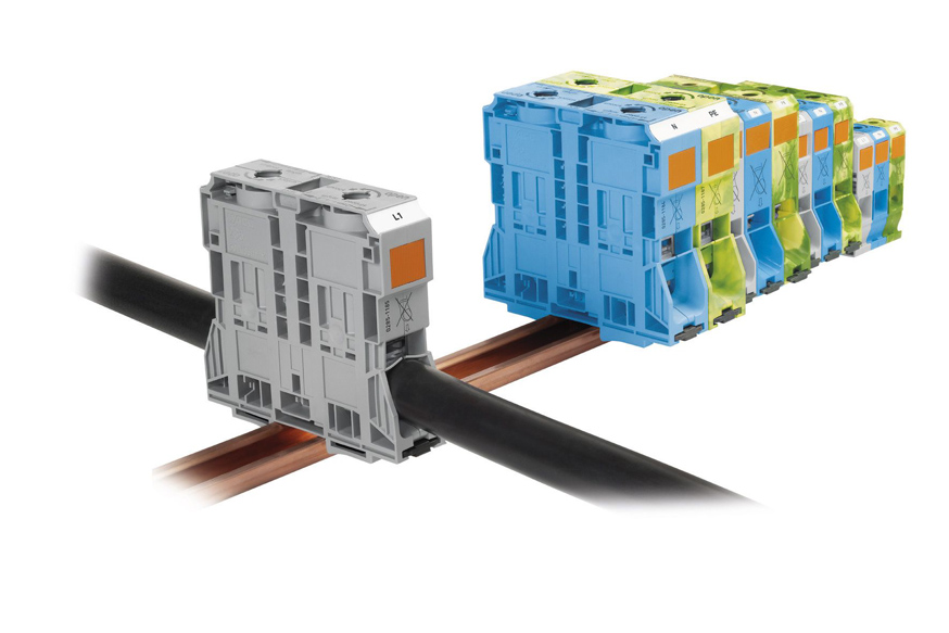 WAGO大电流接线端子全球强势出击,可轻松连接最大185mm²导线