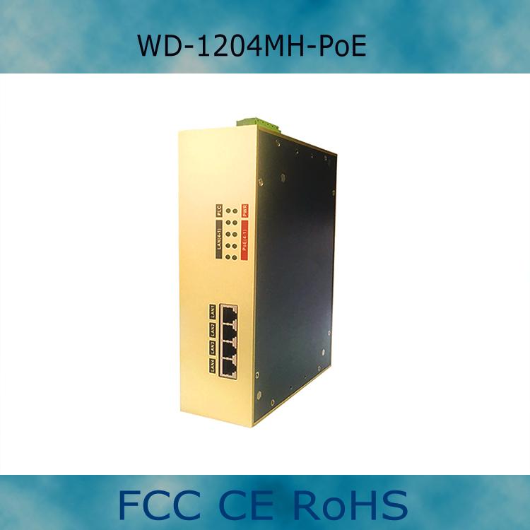 WD-1204MH-PoE 四口PoE电力网桥