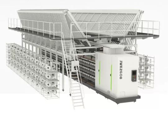 纺织机械|品质优良吸引回头客 经纬智能公司化纤加弹机再签合同订单