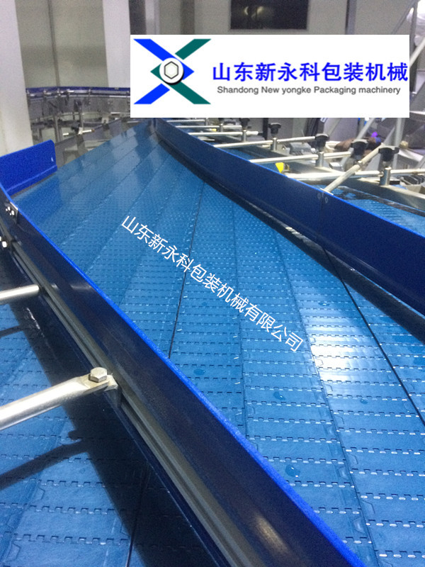 供应塑钢链板机_皮带机_滚筒输送机_新永科包装_输送设备制造厂家