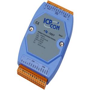 供应泓格I-7527 I-7527D:可寻址的RS-485到RS-232转换器,支持7个RS-232