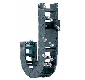 易格斯15050系列拖链,每个链节可在两侧打开