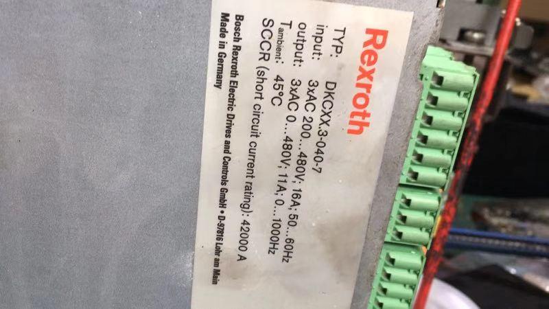 博世RexrothDKCXX.3-040-7驱动器维修东莞深圳广州两小时快速维修