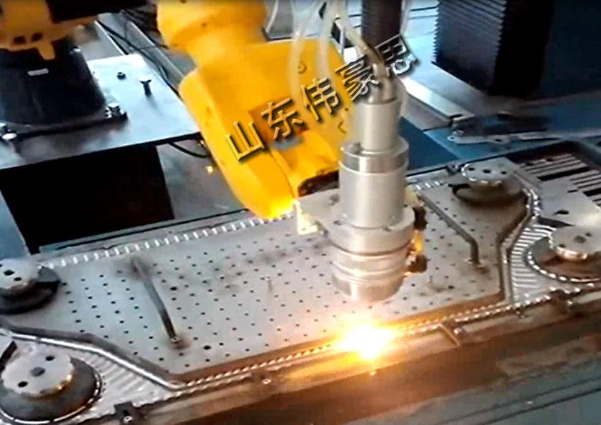 食品机械激光焊接机器人 点焊焊接机器人