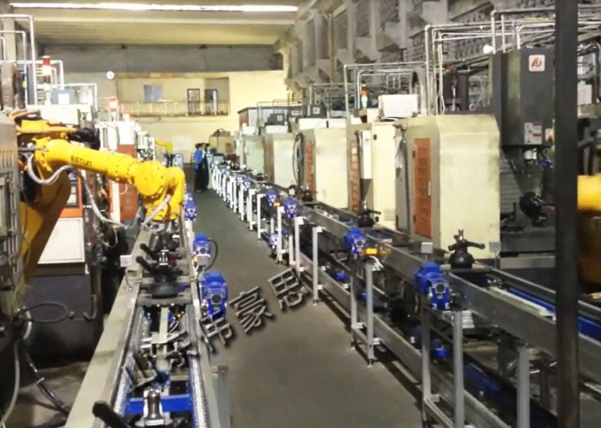 汽车件车床上下料机器人 上下料工业机器人