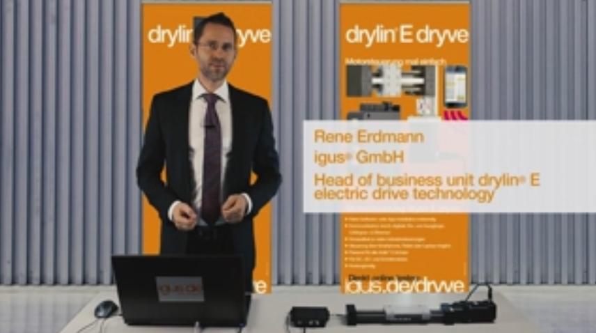 drylin® E dryve Webbrowser