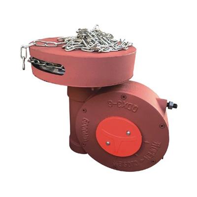 带链条蜗轮箱QD3-5,带链轮阀门减速机