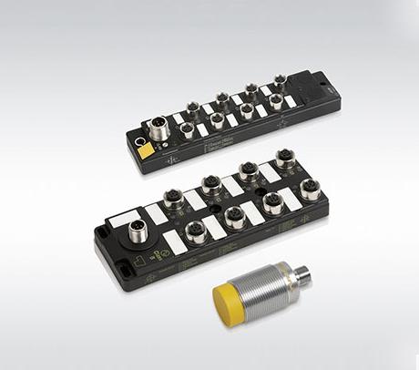 圖爾克帶IO-LINK接口的集線器和RFID讀寫器