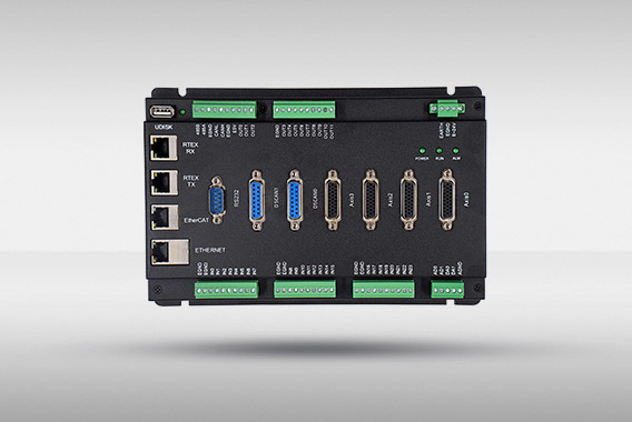 正运动技术 ZMC420N scan EtherCAT+RTEX混合总线运动控制器