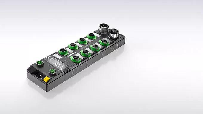 圖爾克 IP67防護等級管理型以太網交換機