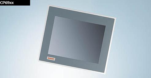 """倍福 CP69xx   带 DVI/USB 扩展接口的""""经济型""""嵌入式控制面板"""