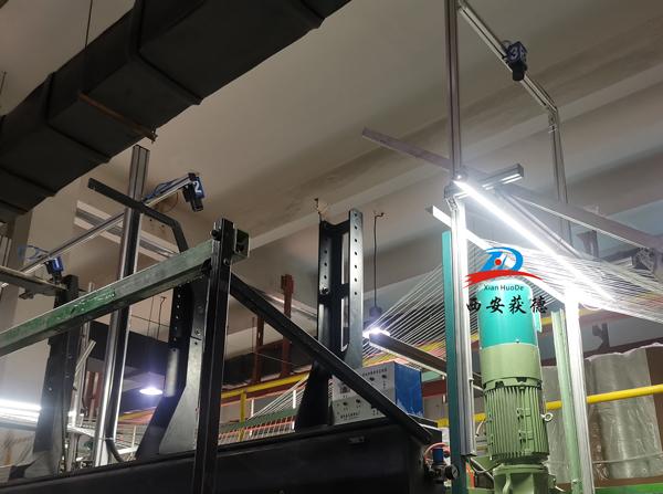 玻璃纤维经编机绕辊断纱检测解决方案