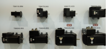 鳴志 TSM/SSM/TXM 系列步進伺服電機