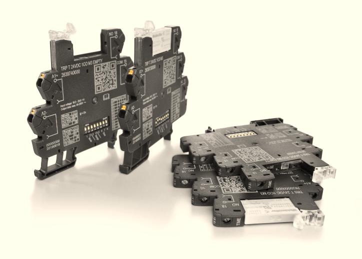 新產品-魏德米勒TERM系列超薄時間繼電器