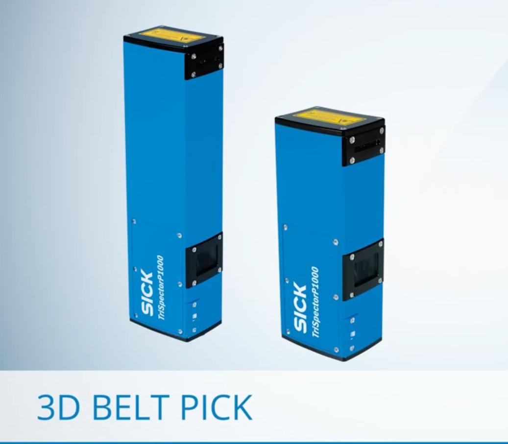 SICK AppSpace 3D Belt Pick解決方案