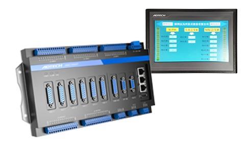 众为兴高性能3-6轴植毛机控制器(7寸或10寸屏)