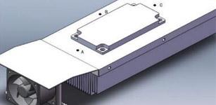 大功率伺服驱动器热设计 研究与仿真分析