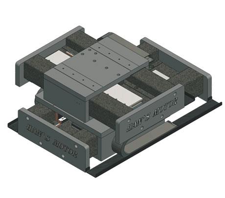 大族 LMSU 8207 十字型气浮直线电机平台
