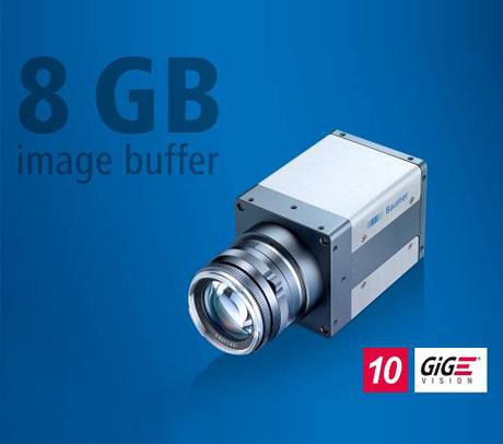 堡盟新款QX系列万兆网接口相机:自带8GB图像内存