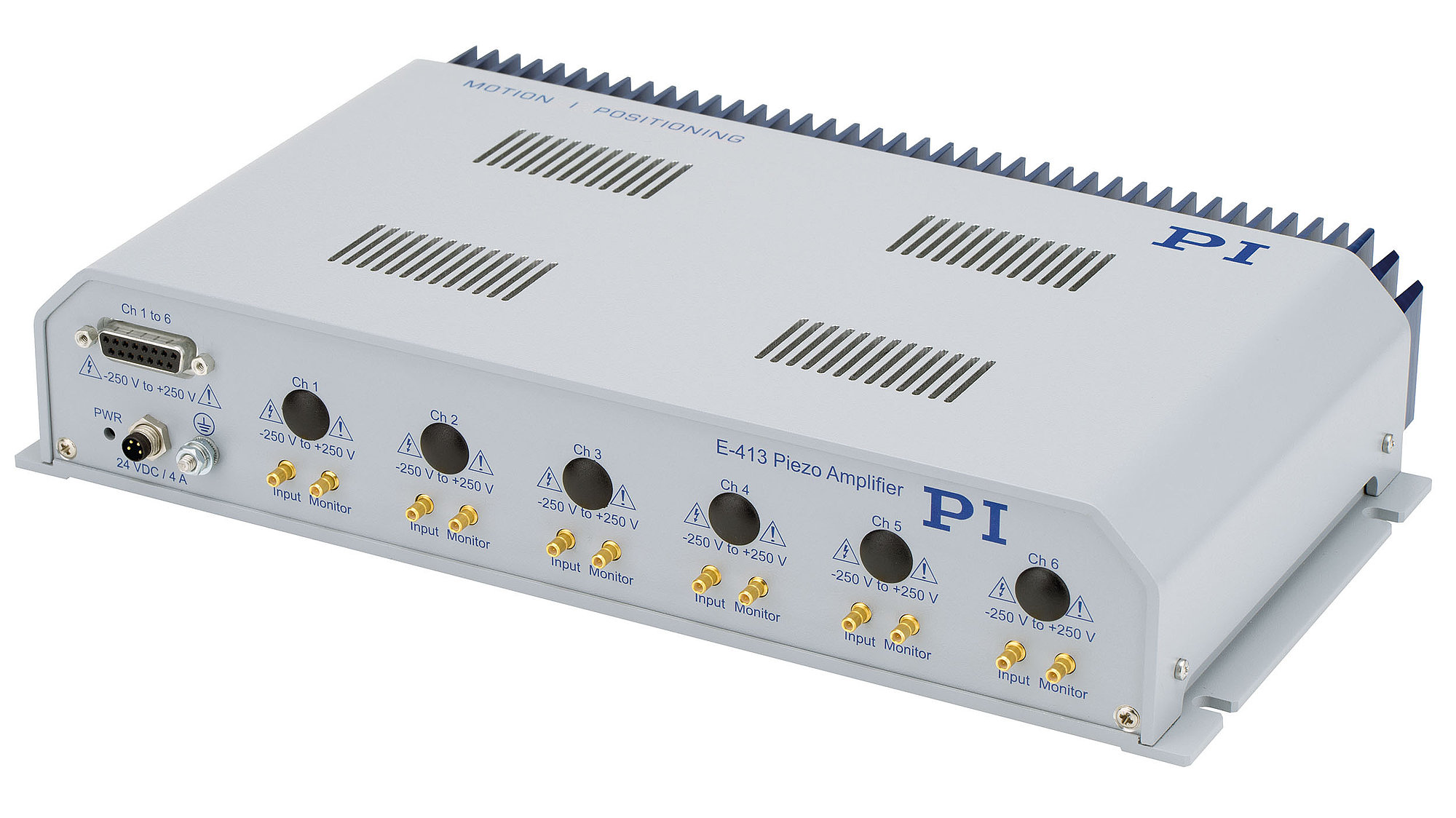 E-413.2 - E-413.6 Multi-Channel Piezo Amplifier