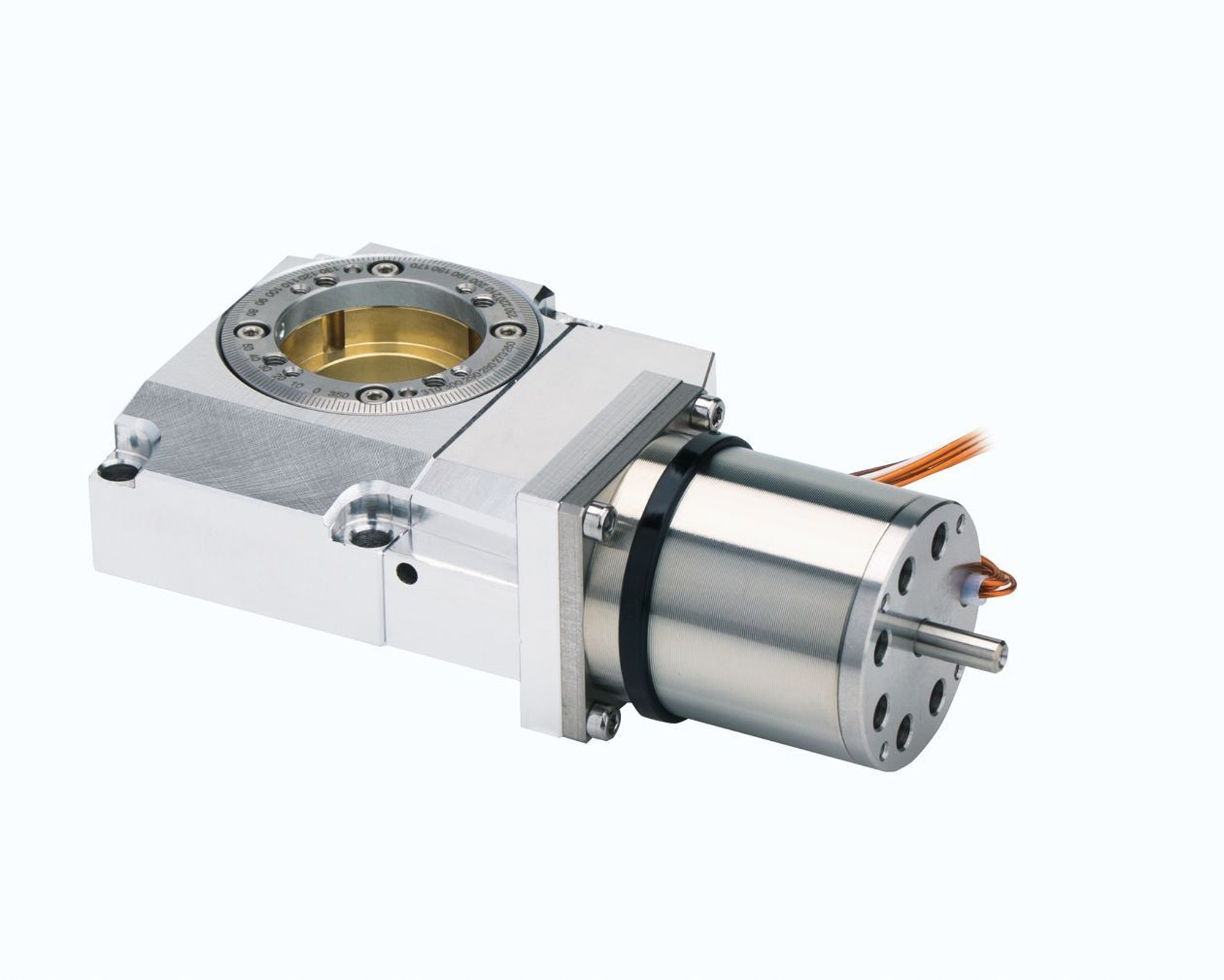 RS-40 V7 Compact Rotation Stage Suitable for Vacuum