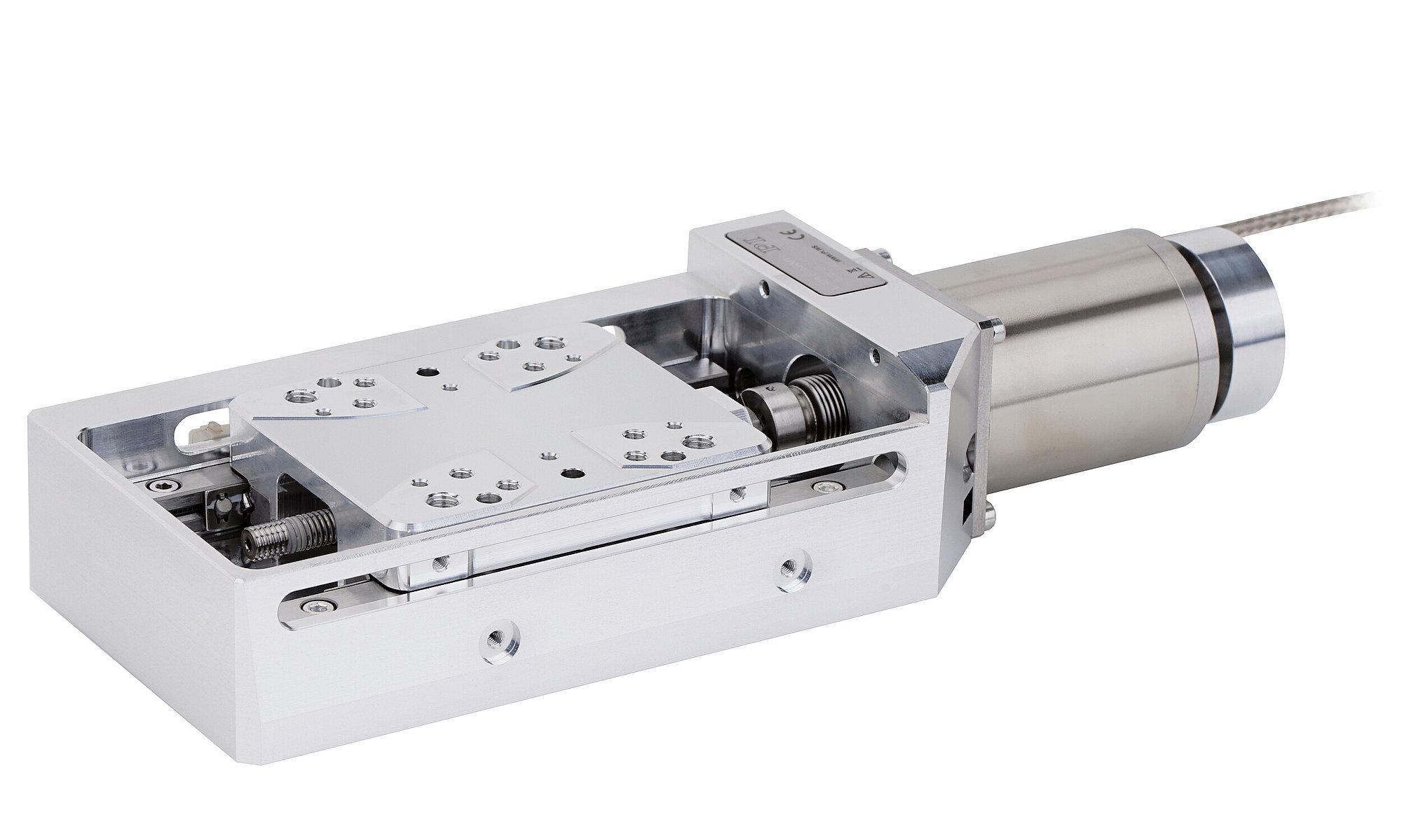 L-509 V6 • V7 • V9 Precision Linear Stage Suitable for Vacuum