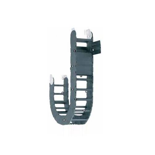 易格斯 1608系列拖管,可沿两侧快速打开,全封闭型