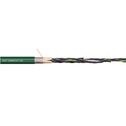 易格斯 chainflex® CF6 高柔性控制电缆