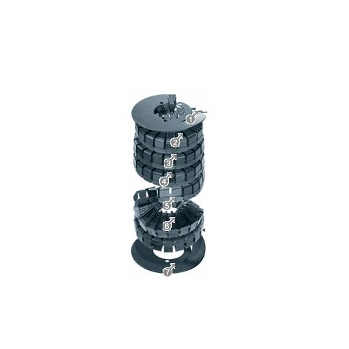 易格斯 twisterband®: 紧凑,模块化,降低成本