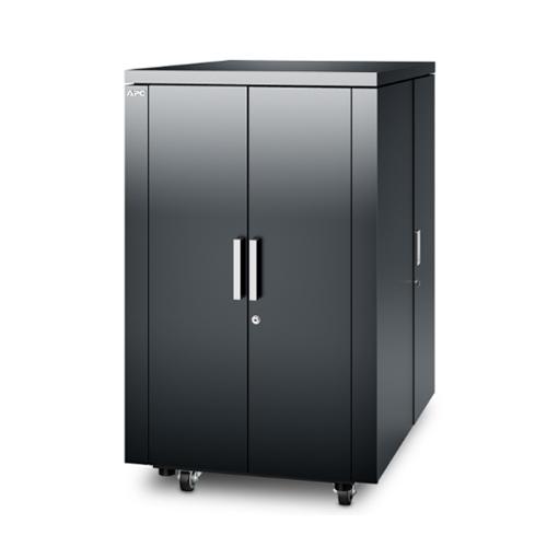 施耐德 AR4024IX431 NetShelter CX 24U机柜,深灰色