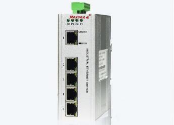 MIE-1005P 5FE卡轨式百兆非网管工业以太网交换机