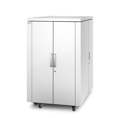 施耐德  NetShelter CX 18U机柜,白色