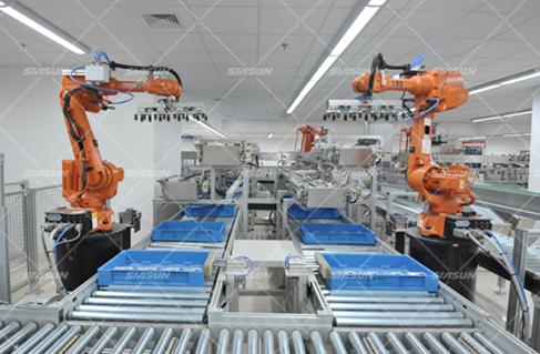 搬运码垛机器人系统