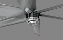 国奥直驱电机在工业大风扇领域的应用