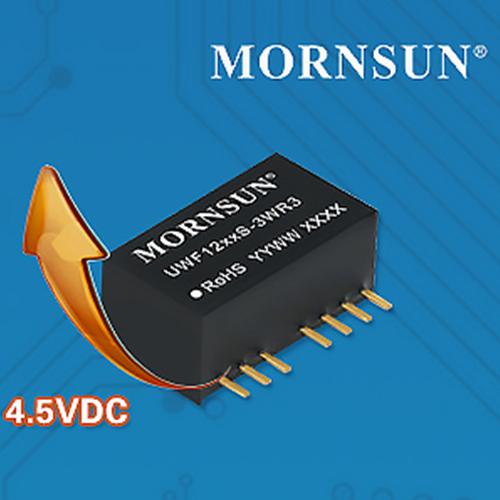 金升阳 4.5-36VDC超宽压输入DC/DC模块电源 ——UWE/F_S-1/3WR3系列